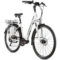 "E-bike Leader Fox SAGA CITY 28"", 2019-2 18"" WHITE MATT"