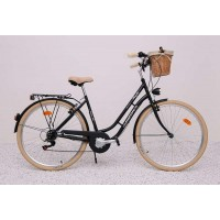 "ARIZONA HOLLANDRAD 28"" CITYBIKE SCHWARZ"