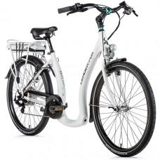"""E-Bike-Führer Fox E-HOLAND 26 """", 2020-2 17"""" WHITE MATT"""