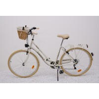 "ARIZONA HOLLANDRAD 28"" CITYBIKE CREME"